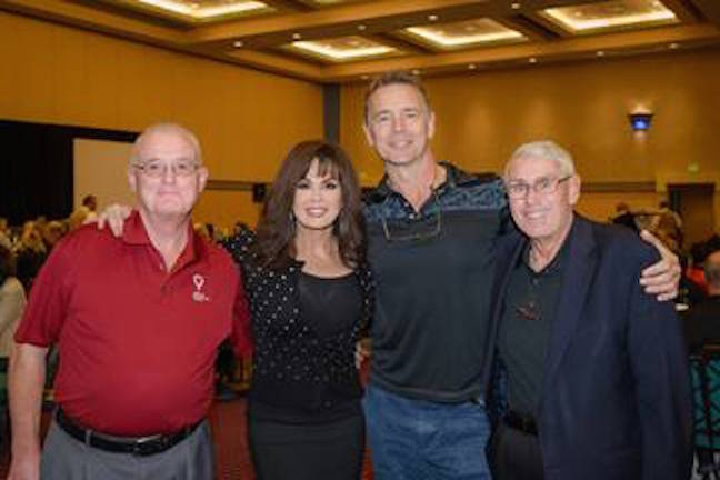 Mick Shannon, Marie Osmond, John Schneider and Joseph G. Lake.