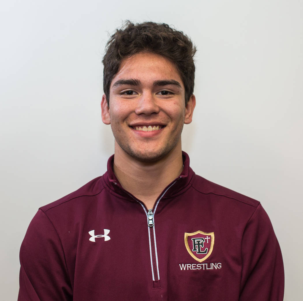 Peter Enos, Faith Lutheran: Last year's state champion at 132 pounds, the junior won the Class 4A state title at 145 pounds. He also won the Sunset Region title.