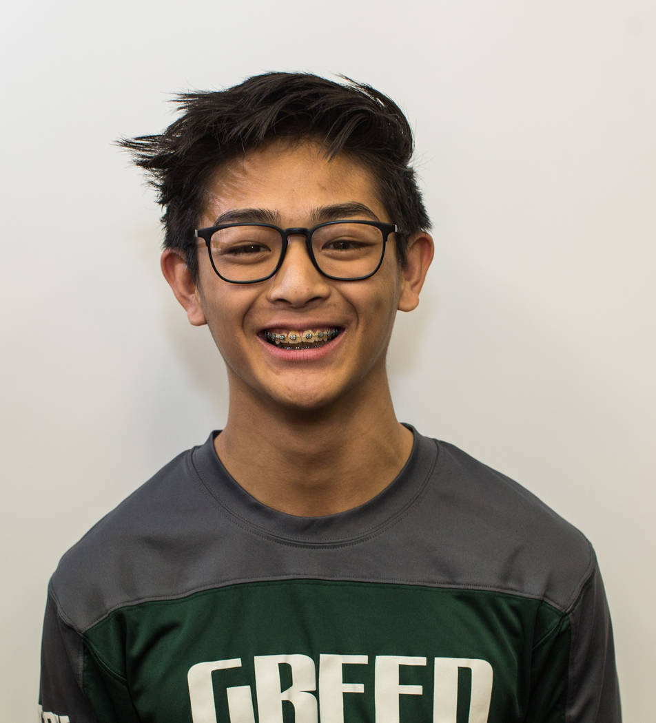 Steele Dias, Green Valley: The sophomore helped the Gators win the Class 4A state and Sunrise Region region titles by winning individually at 106 pounds. He won the state title by fall in just 35  ...