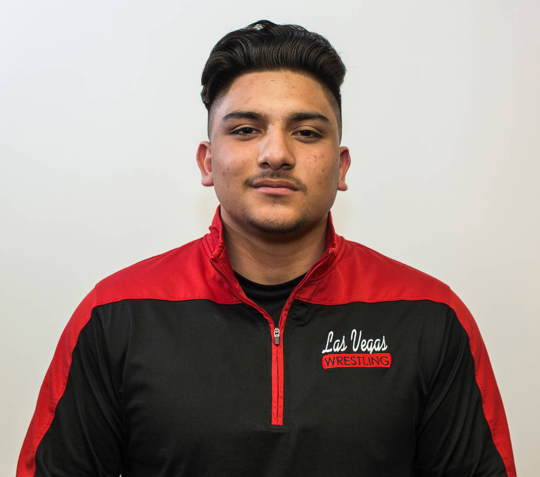 Mauricio Jimenez, Las Vegas: Once the calendar turned to 2017, the junior did not lose. He claimed the Class 4A state title and Sunrise Region championship at 220 pounds.