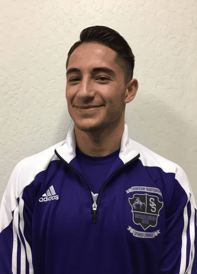 Cole Drescher, Spanish Springs: The senior won the Class 4A 160 pound title after finishing second as a junior. He helped the Cougars finished second in the team scoring.