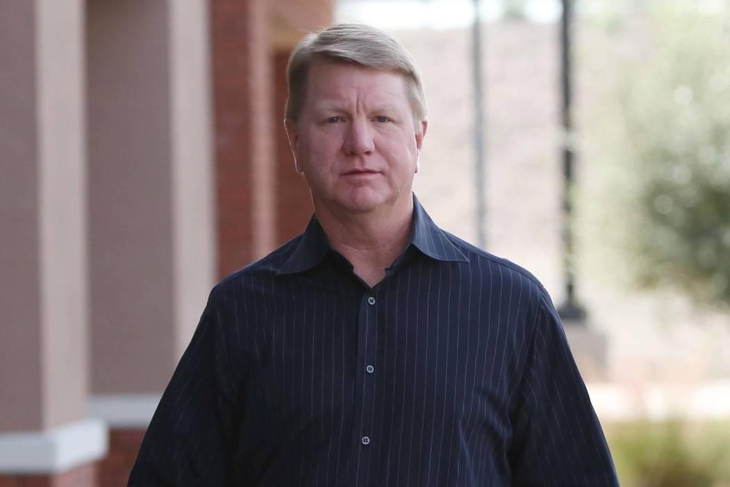Assemblyman Jim Marchant, R-Las Vegas (Bizuayehu Tesfaye/Las Vegas Review-Journal)