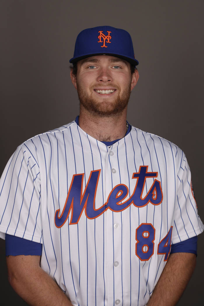 This is a 2017 photo of David Roseboom of the New York Mets. This image represents the Mets active roster on Wednesday, Feb. 22, 2017, in Port St. Lucie, Fla. (AP Photo/David J. Phillip)