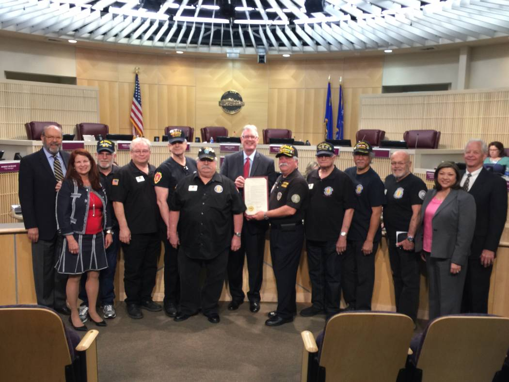 The Henderson City Council presented a proclamation declaring March 29 as Vietnam Veterans Day Tuesday, March 21, 2017. Members of Vietnam Veterans of America Chapter 1076 received the proclamatio ...