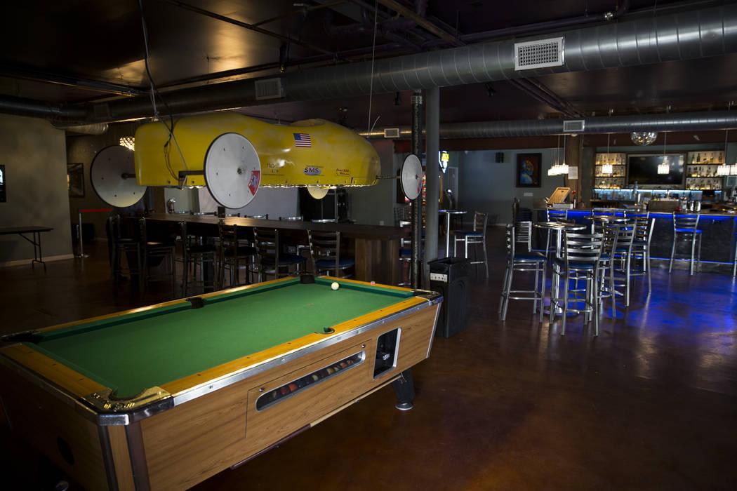 The Thunderbird Hotel lounge on Wednesday, March 22, 2017, in Las Vegas. (Erik Verduzco/Las Vegas Review-Journal) @Erik_Verduzco