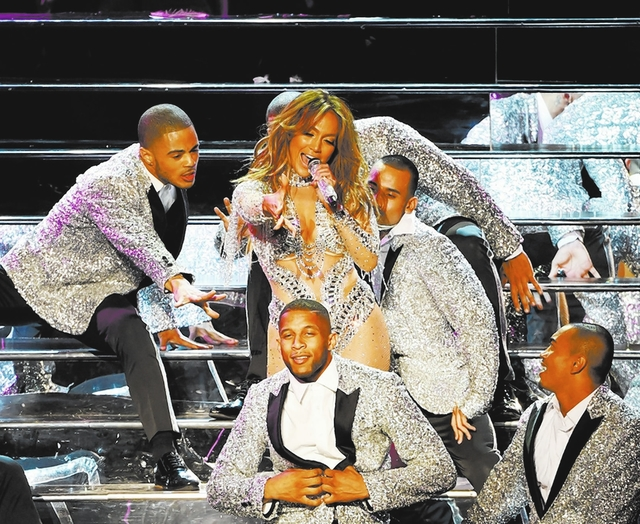 Jennifer Lopez performs at Axis at Planet Hollywood in Las Vegas in May. (Courtesy)