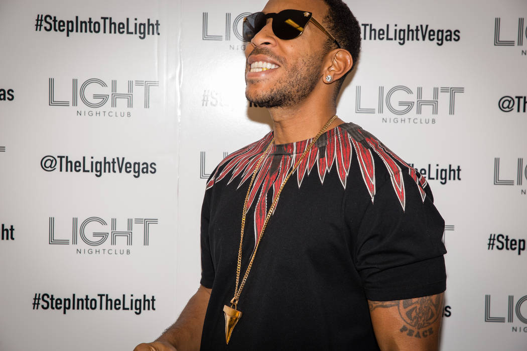 Ludacris headlines at Light at Mandalay Bay on Saturday, March 18, 2017, in Las Vegas. (Seva Kalashnikov)