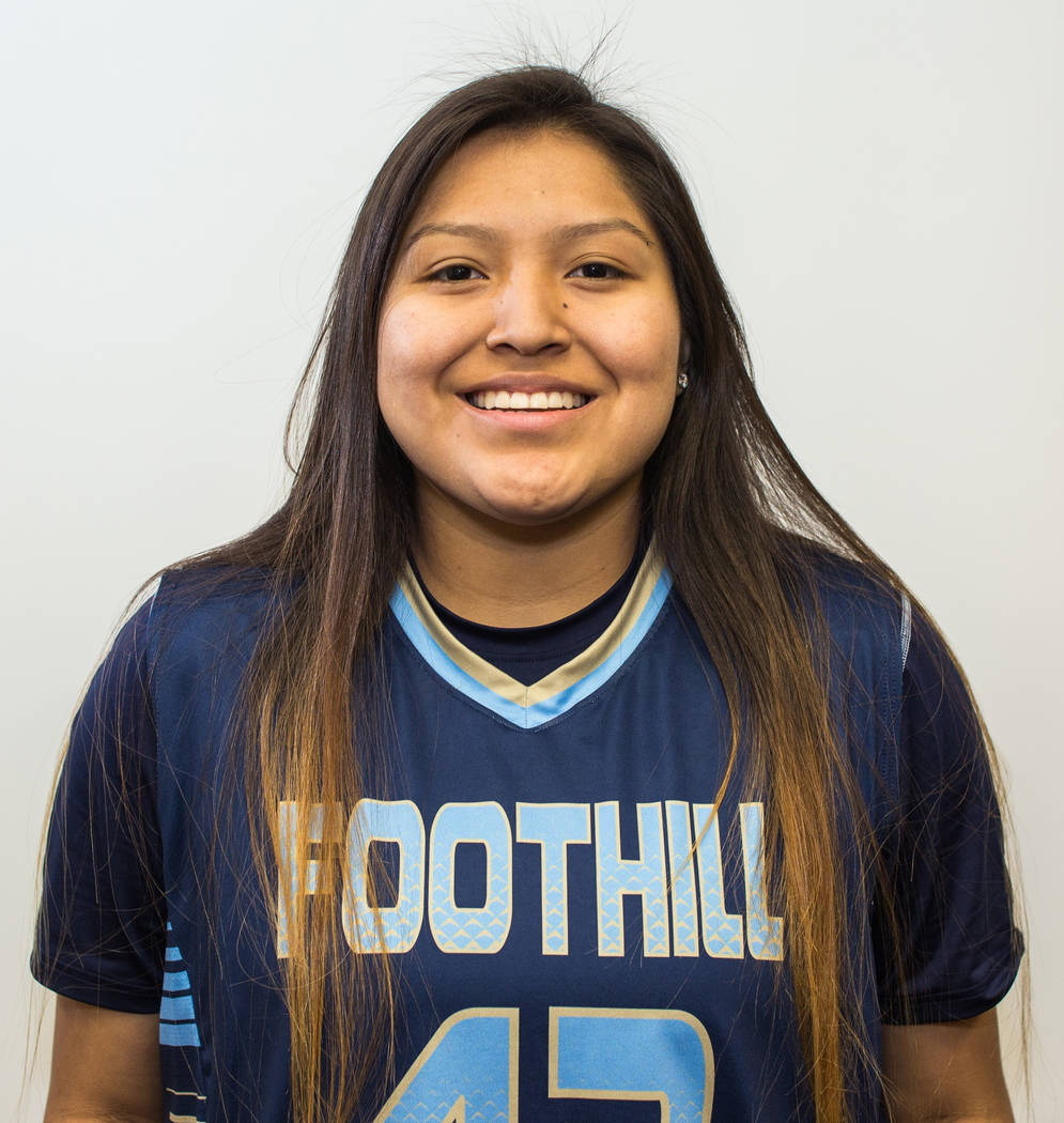 Trinity Betoney, Foothill (5-8, G): The senior was a first-team All-Southeast League selection. Betoney, who signed with Adams State (Colorado), averaged 13.6 points, 5.1 rebounds and 3.5 steals p ...