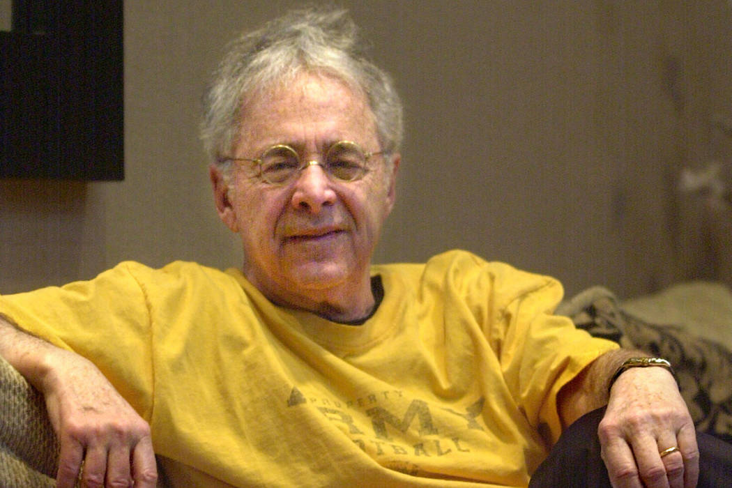 "In this Dec. 20, 2002 file photo, Chuck Barris, the man behind TV's ""The Dating Game,"" poses in the lobby of his apartment in New York. Game show impresario Barris has died at 87. Barris, the madc ..."