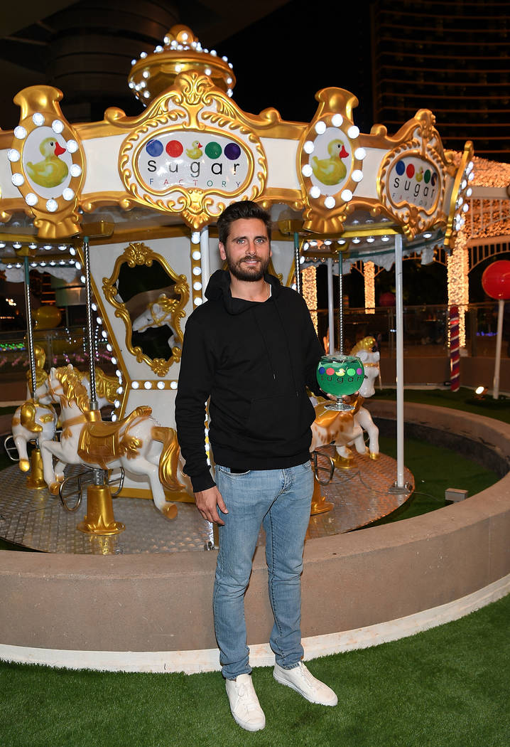 Scott Disick hosts the grand opening of Sugar Factory Fashion Show on Saturday, March 18, 2017, in Las Vegas. (Denise Truscello/Getty Images)