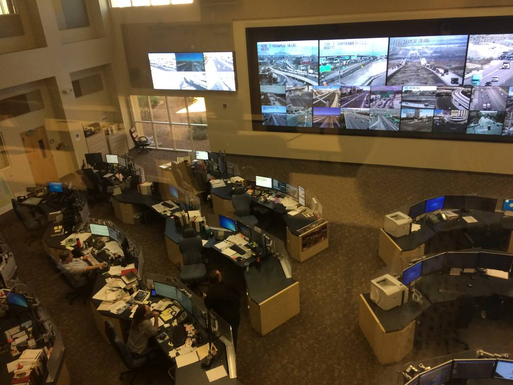 Eyes on the roads: RTC department monitors 600 Clark County traffic ...