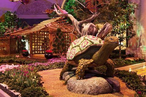 Bellagio Conservatory U0026 Botanical Gardensu0027 Spring 2017 Display In Las Vegas.  (Courtesy)