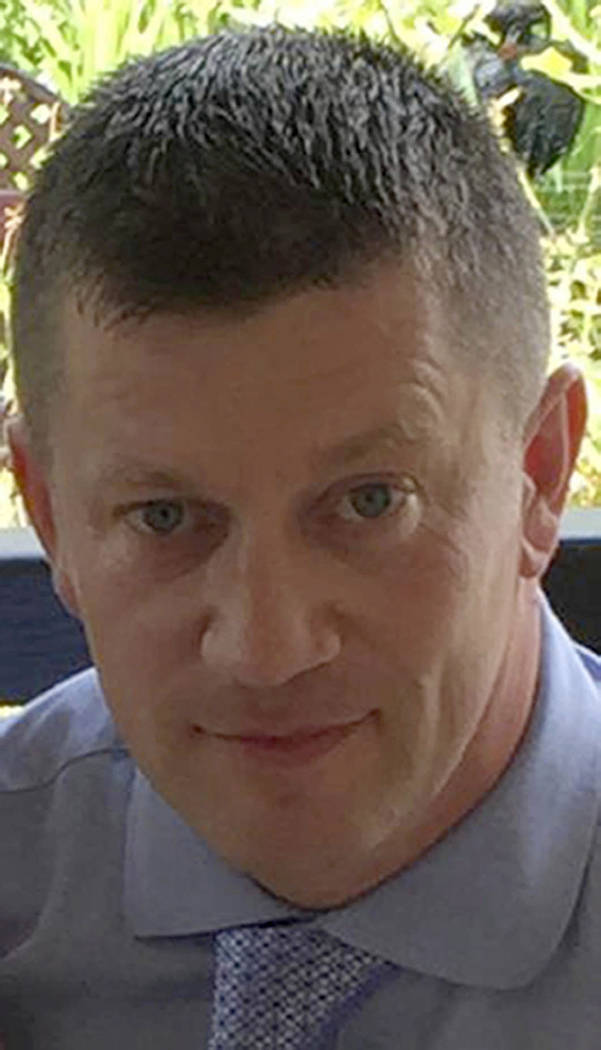 Police officer Keith Palmer was killed during the attack on the Houses of Parliament in London. (Metropolitan Police via AP)