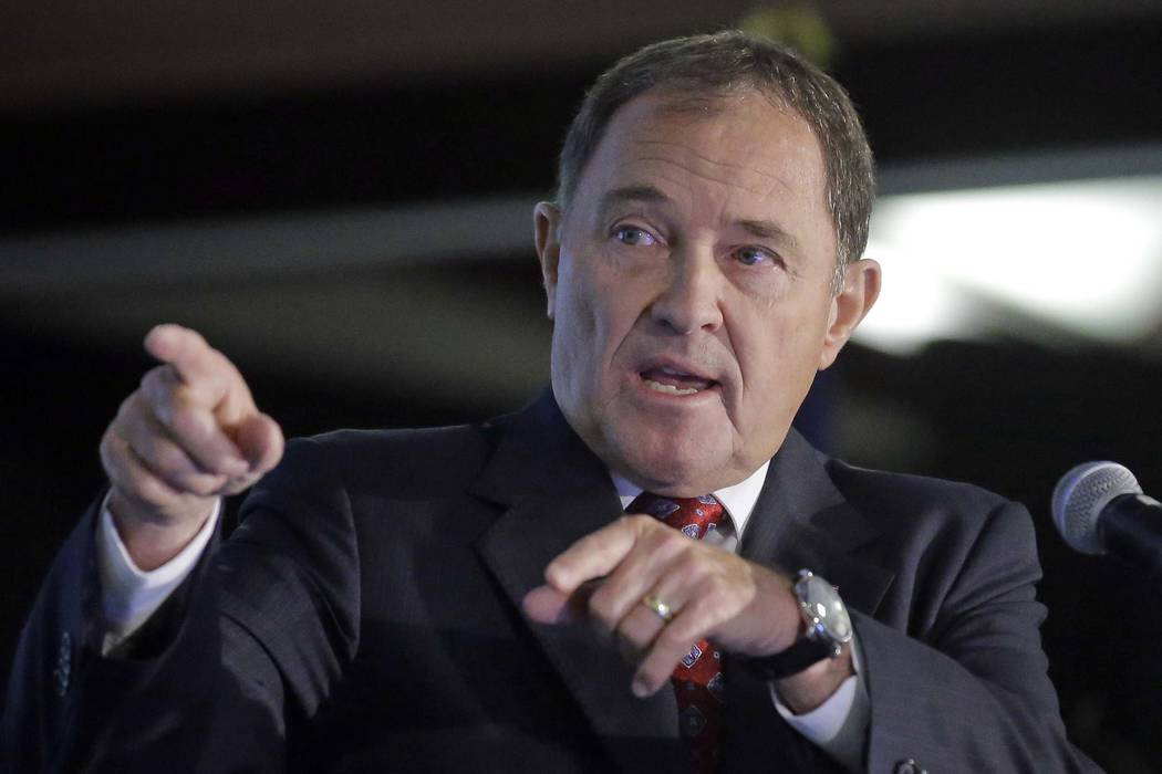 Republican Gov. Gary Herbert said he plans to approve the measure lowering the blood alcohol limit for most drivers to .05 percent from .08 percent. (Rick Bowmer/AP, File)