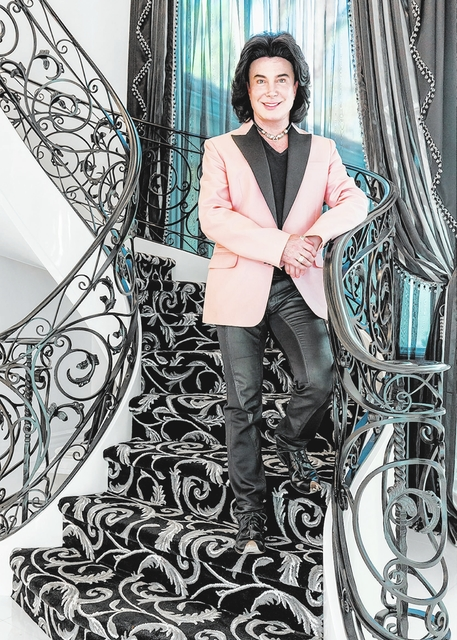 "Frank Marino, star of ""Divas Las Vegas,"" moved into his new home in October. (David Reisman/Real Estate Millions)"