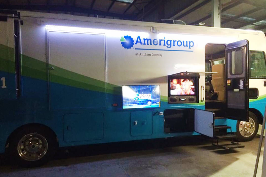 Amerigroup Mobile Health Clinic. (Amerigroup)