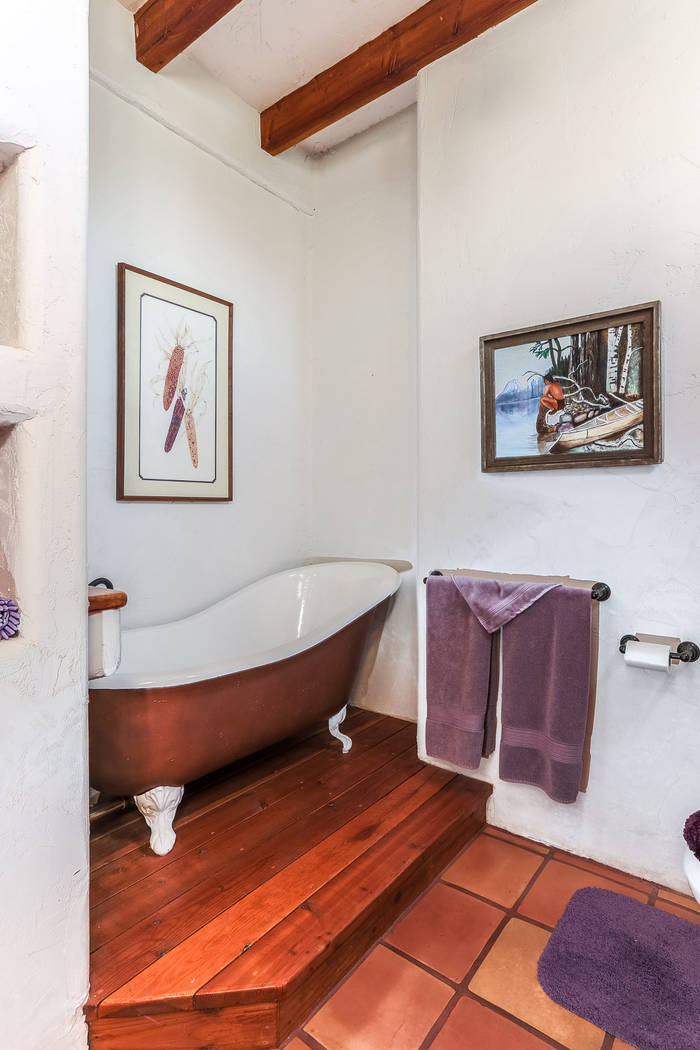 Courtesy of Avi Dan-Goor with Berkshire Hathaway HomeServices Nevada Properties A guest bath.