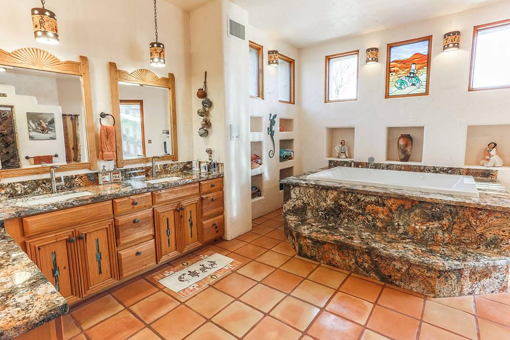 Courtesy of Avi Dan-Goor with Berkshire Hathaway HomeServices Nevada Properties The master bath.