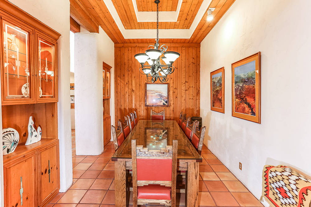 Courtesy of Avi Dan-Goor with Berkshire Hathaway HomeServices Nevada Properties The dining room