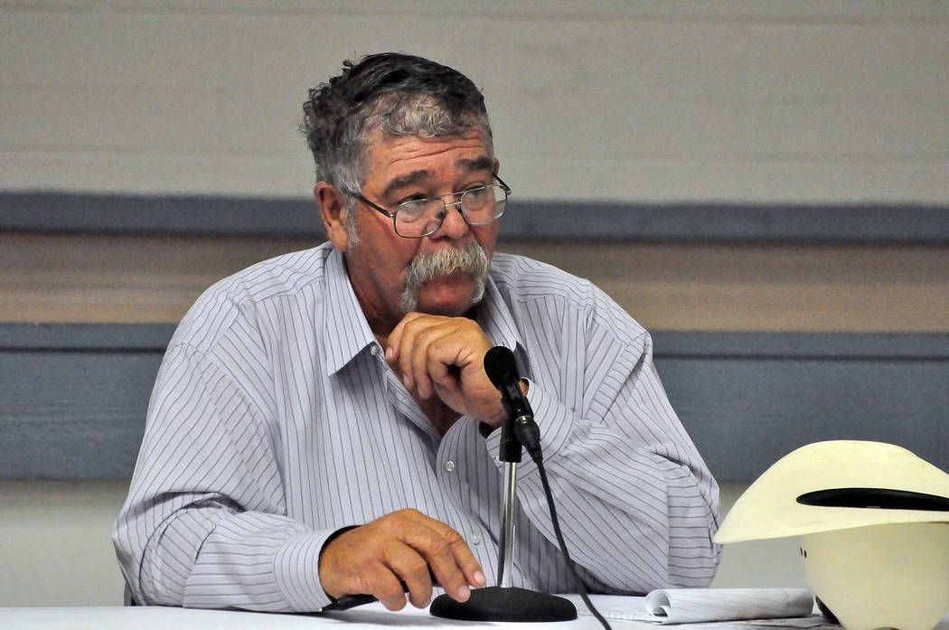 Nevada Sen. Pete Goicoechea, R-Eureka (Special to the Pahrump Valley Times)