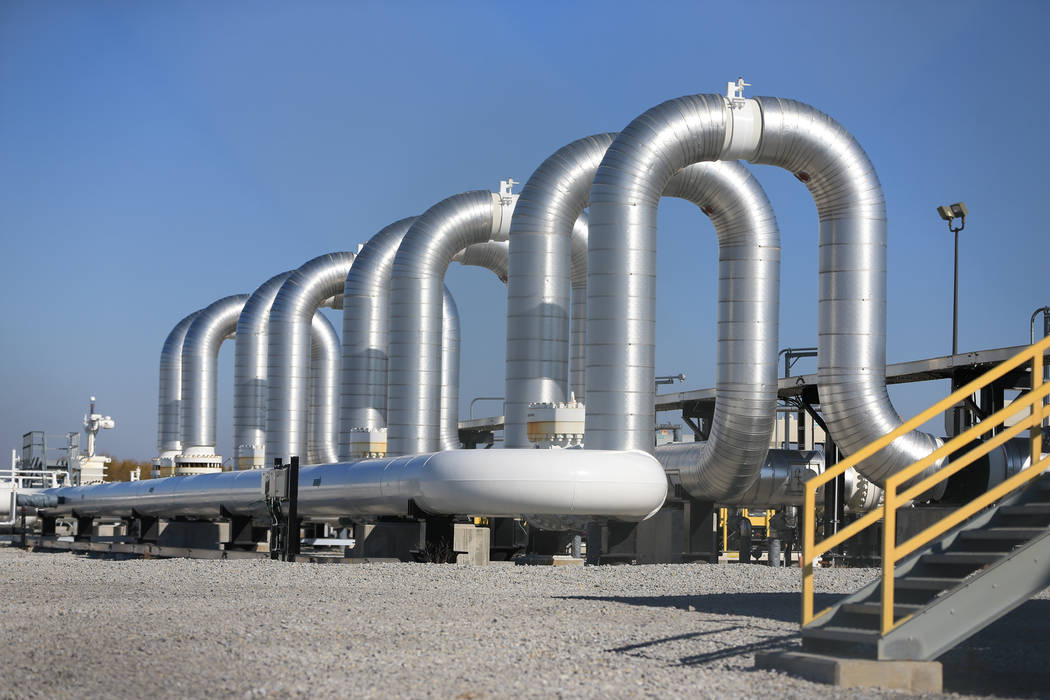 The Keystone Steele City pumping station, into which the planned Keystone XL pipeline is to connect to, is seen in Steele City, Neb. Senior U.S. officials say the State Department will recommend a ...