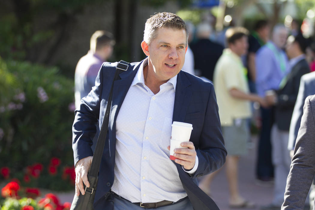 New Orleans Saints head coach Sean Payton during day two of the NFL Annual Meeting at the Arizona Biltmore Hotel on Monday, March 27, 2017, in Phoenix, Ariz.. (Erik Verduzco/Las Vegas Review-Journ ...