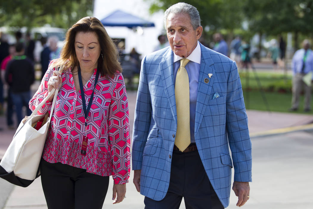 Atlanta Falcons owner Arthur Blank during day two of the NFL Annual Meeting at the Arizona Biltmore Hotel on Monday, March 27, 2017, in Phoenix, Ariz.. (Erik Verduzco/Las Vegas Review-Journal) @Er ...