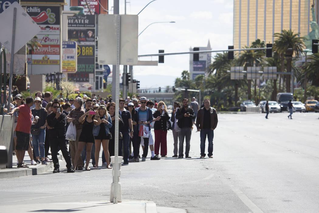 on Saturday, March 25, 2017, in Las Vegas. (Bridget Bennett/Las Vegas Review-Journal) @bridgetkbennett