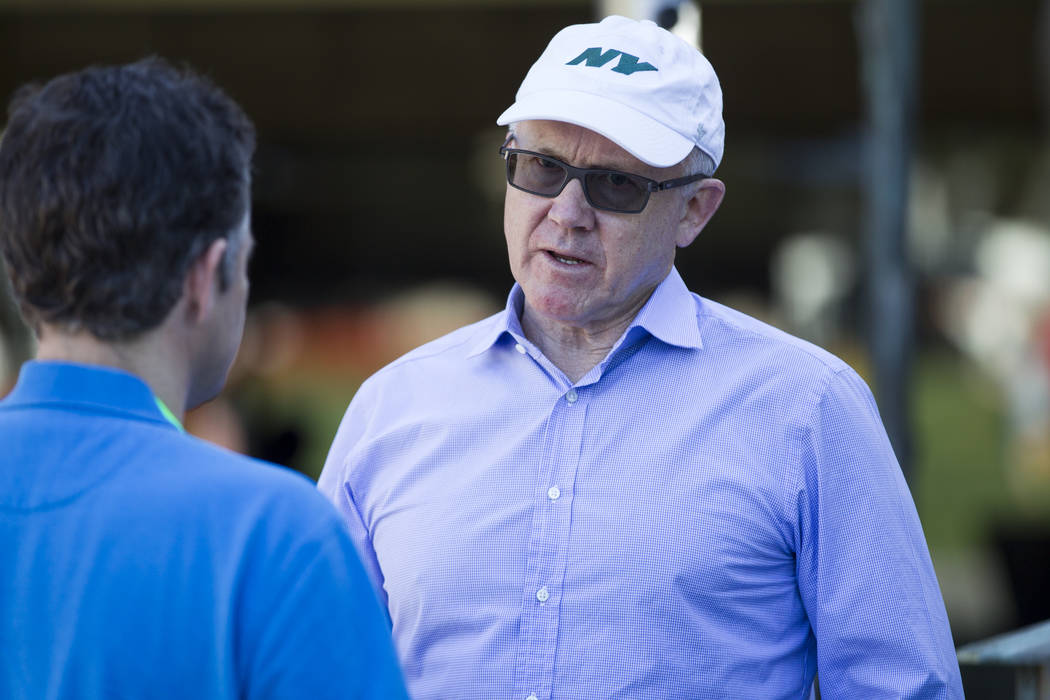 New York Jets owner Woody Johnson during NFL Annual Meeting at the Arizona Biltmore Hotel on Sunday, March 26, 2017, in Phoenix, Ariz. (Erik Verduzco/Las Vegas Review-Journal) @Erik_Verduzco