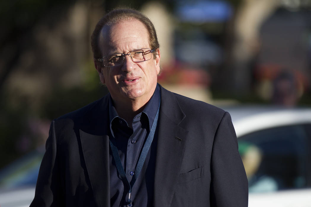 Los Angeles Chargers owner Dean Spanos during day one of the NFL Annual Meeting at the Arizona Biltmore Hotel on Sunday, March 26, 2017, in Phoenix, Ariz. (Erik Verduzco/Las Vegas Review-Journal)  ...