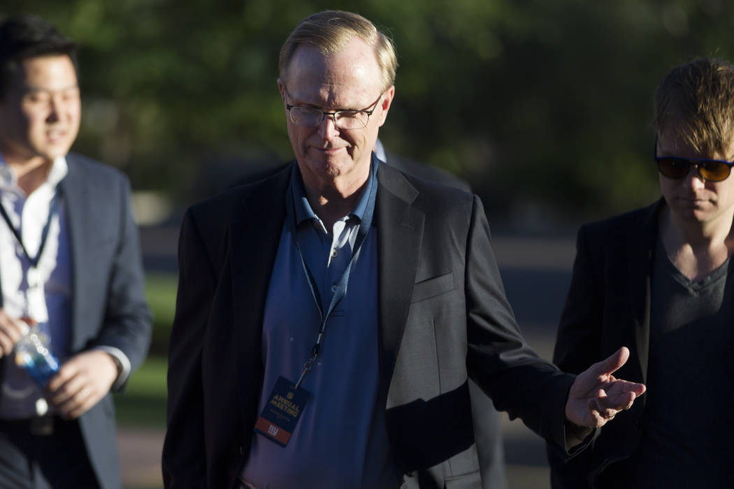 New York Giants owner John Mara during day one of the NFL Annual Meeting at the Arizona Biltmore Hotel on Sunday, March 26, 2017, in Phoenix, Ariz. (Erik Verduzco/Las Vegas Review-Journal) @Erik_V ...