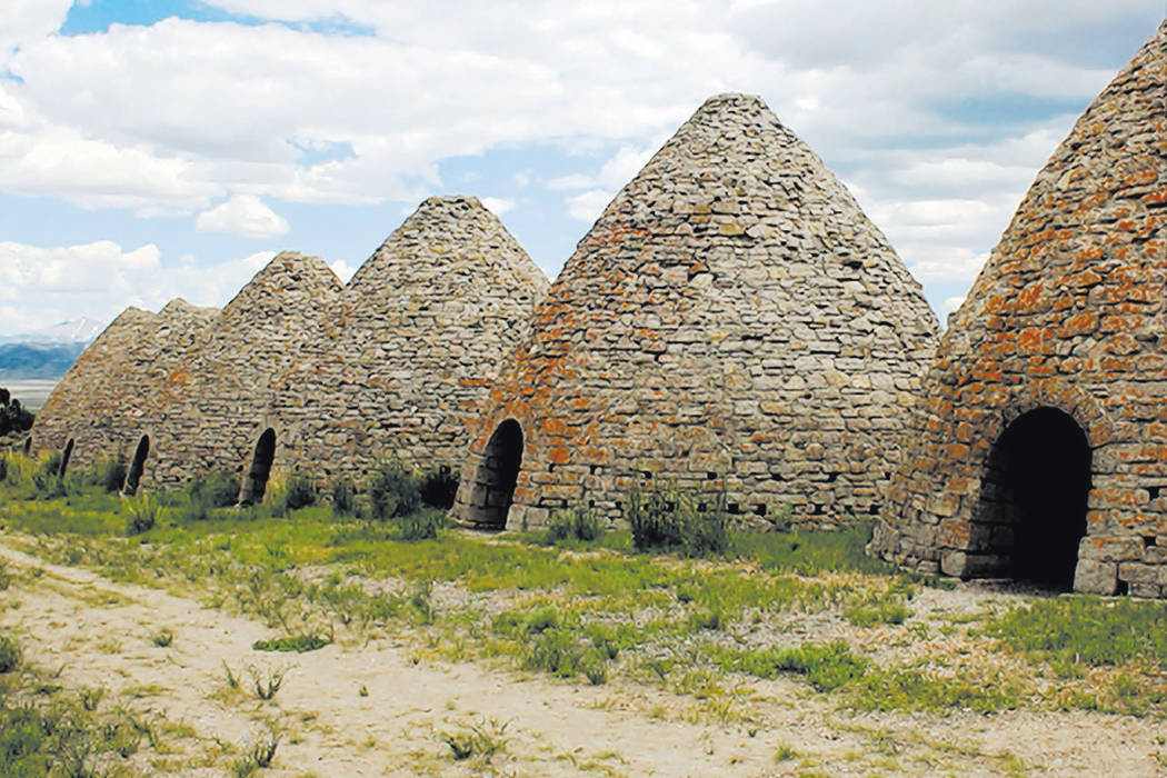 Ward Charcoal Ovens State Historical Park, just south of Ely, is home to six 30-foot high beehive-shaped ovens that were used to make charcoal for ore smelters in the late 1800s. (Las Vegas Review ...