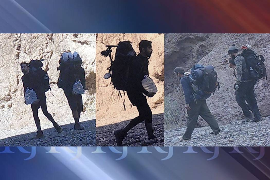 The National Parks Service's Investigative Branch wants the public's help to solve a fossil heist from Death Valley. (National Park Service)