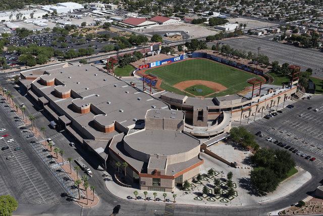 The Cashman Center in Las Vegas is seen on Monday, Sept. 26, 2016. Brett Le Blanc/Las Vegas Review-Journal Follow @bleblancphoto