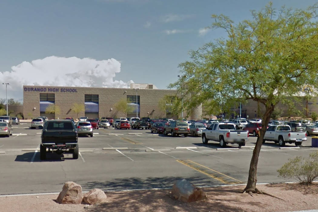 A Durango High School student was arrested Tuesday after making threats on social media. (Google Street View)
