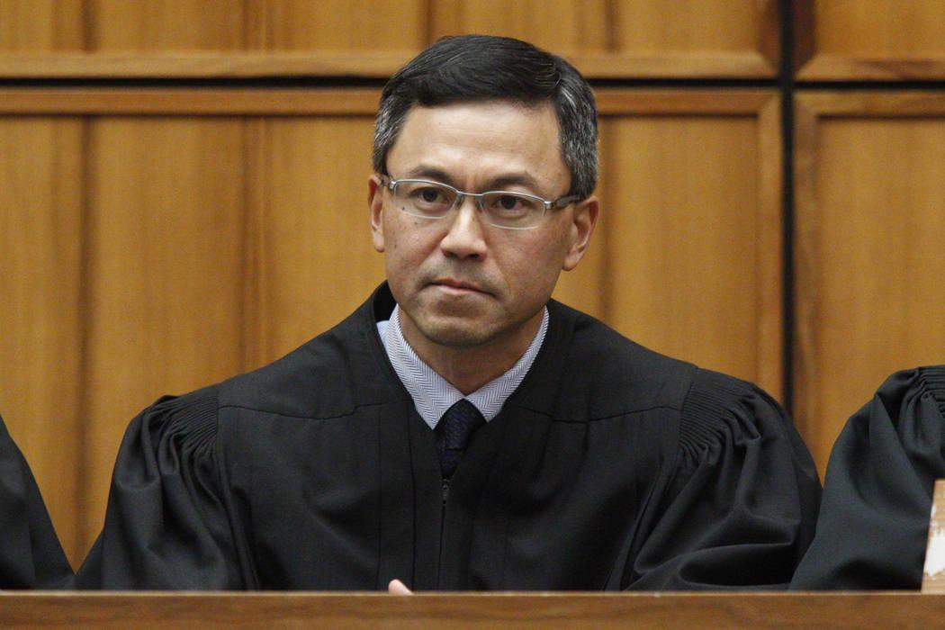 U.S. District Judge Derrick Watson in Honolulu on Dec. 2015. (George Lee/The Star-Advertiser via AP)
