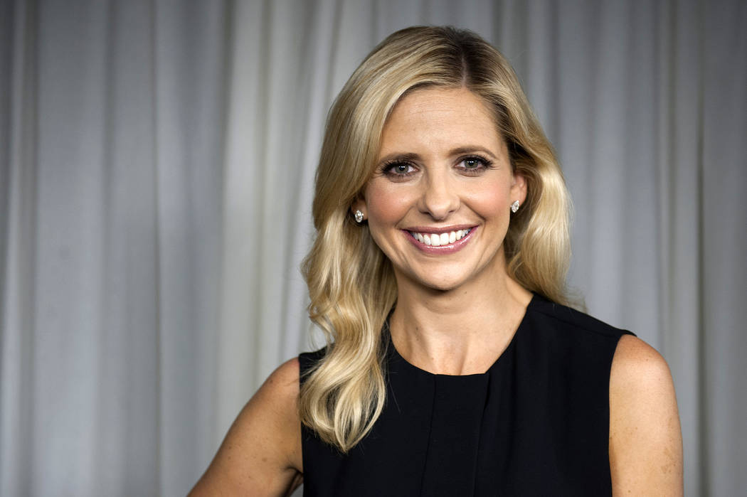 Actress Sarah Michelle Gellar in Los Angeles on Sept. 24, 2013. (Jordan Strauss/Invision/AP)
