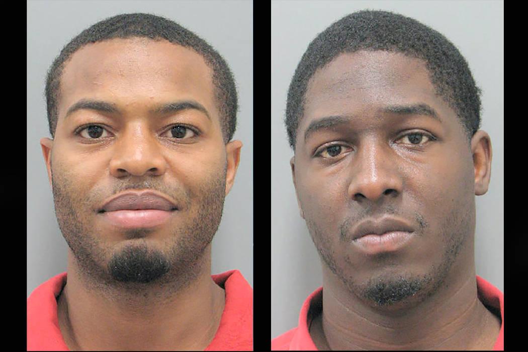Cedric Henderson and Ladarian Glenn. (Henderson Police Department)