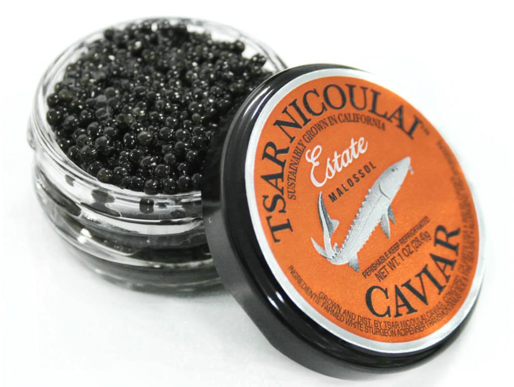 Tsar Nicoulai Caviar. (Courtesy)