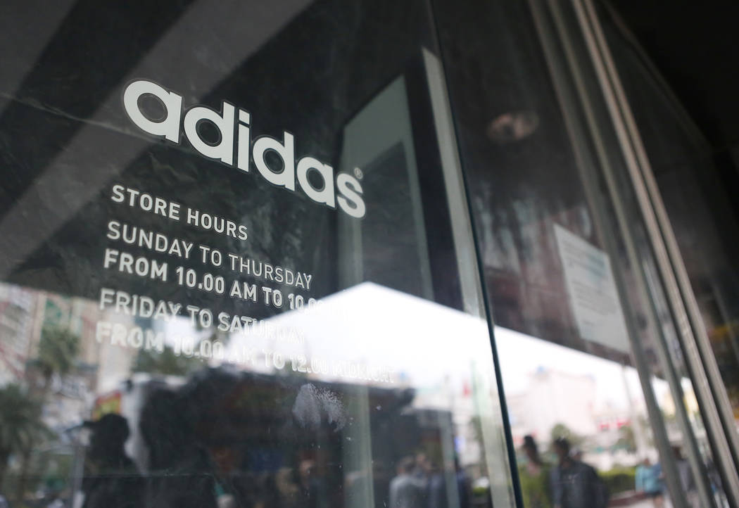 Adidas adopting new store design for Las Vegas Strip store  a716980159b7