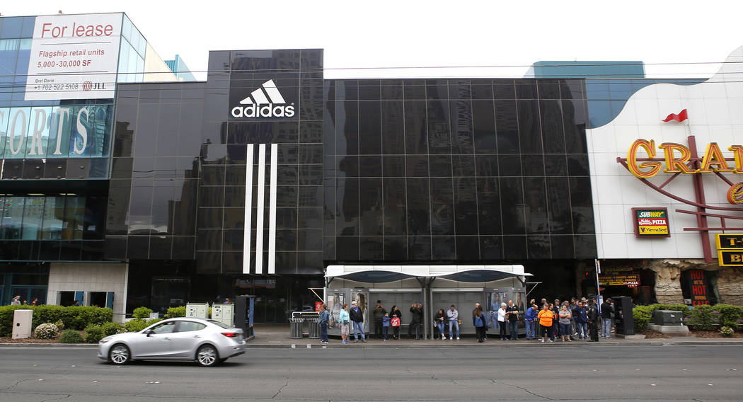 Cl Las Vegas >> Adidas Adopting New Store Design For Las Vegas Strip Store