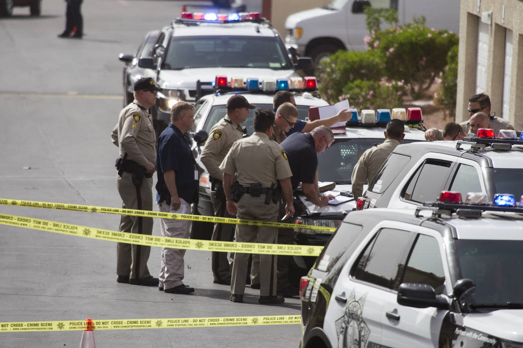 Image result for cops investigating shooting scene