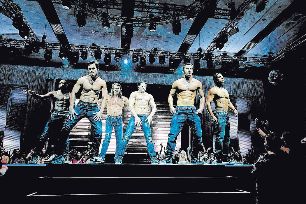 channing tatum grooves from audience at magic mike live las