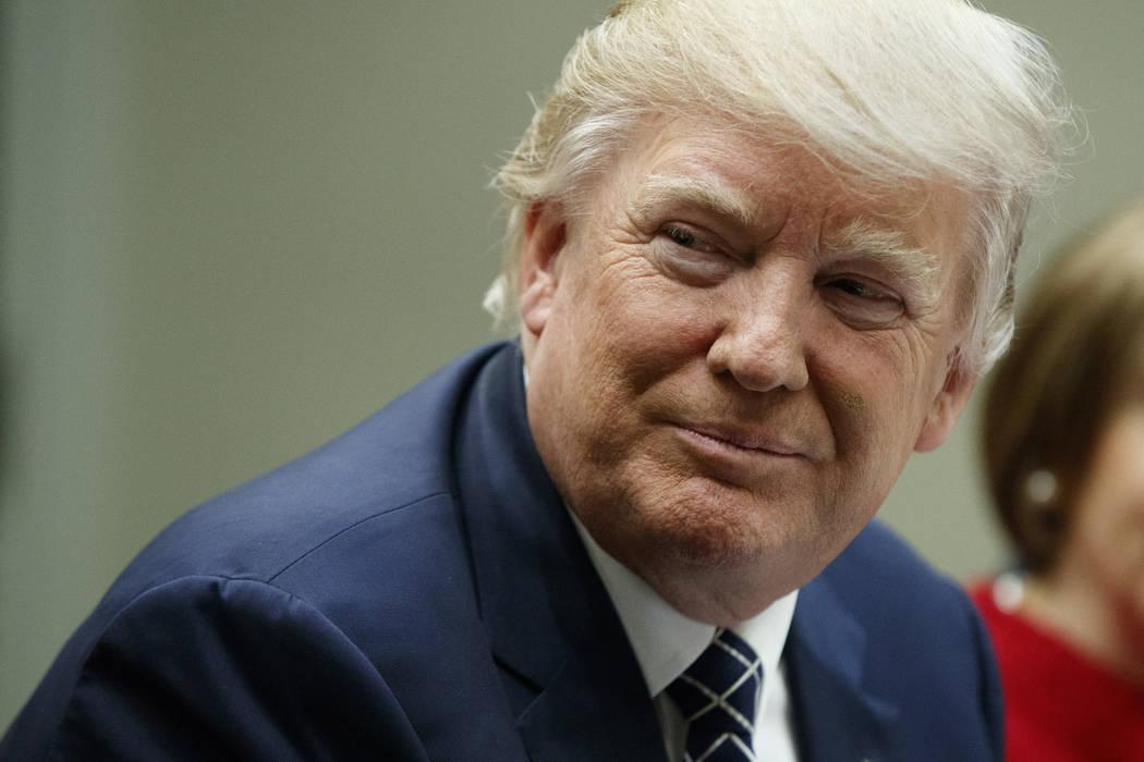 President Donald Trump. AP Photo/Evan Vucci