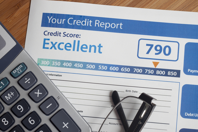 Southern Nevadans' credit scores inched higher last year but remain among the lowest in the country, a new report shows.