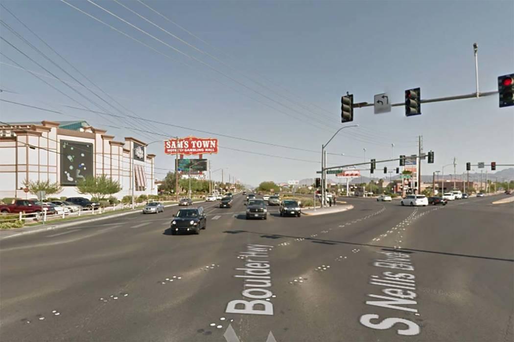 Boulder Highway and Nellis Boulevard (Google Street View)