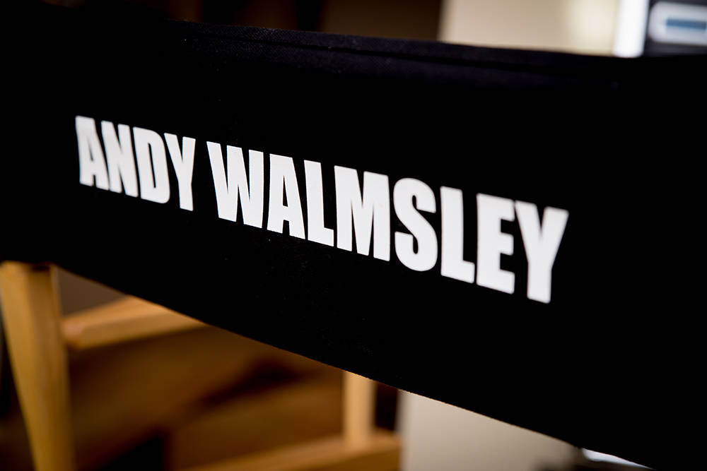 celebrity tv set designer andy walmsley has a lot of mementos from his