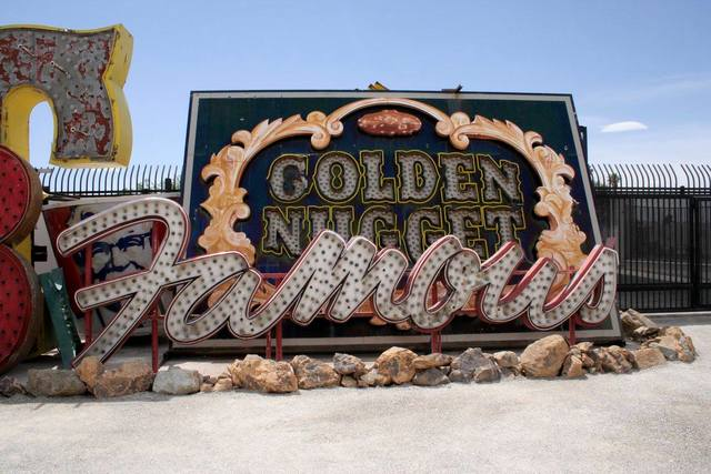 The Neon Museum in Downtown Las Vegas. (Courtesy)