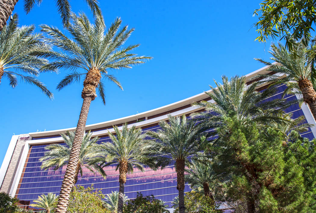 Red Rock Casino, Resort & Spa is credited with drawing business to the Downtown Summerlin shopping center. Photo taken on Tuesday, Feb. 28, 2017, in Las Vegas. (Benjamin Hager/Las Vegas Review ...