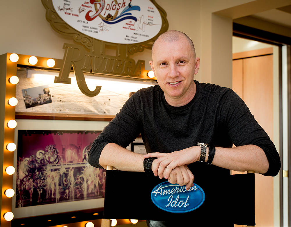 british born celebrity tv set designer andy walmsley is famous for his